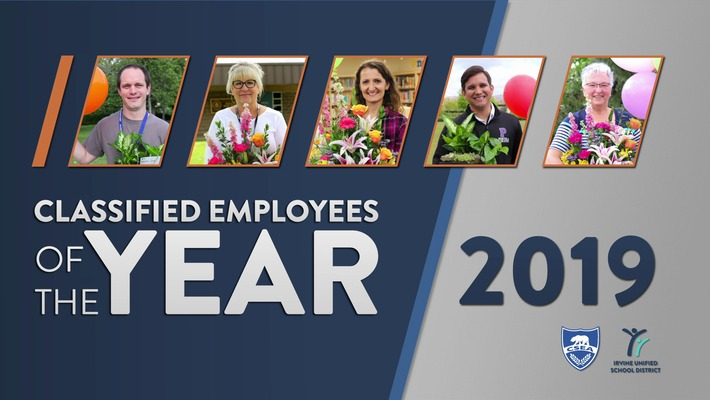 Classified Employees of the Year 2019