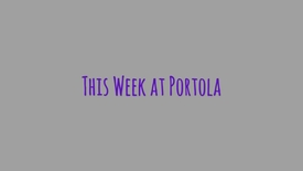 Thumbnail for entry Portola High School: Week Three