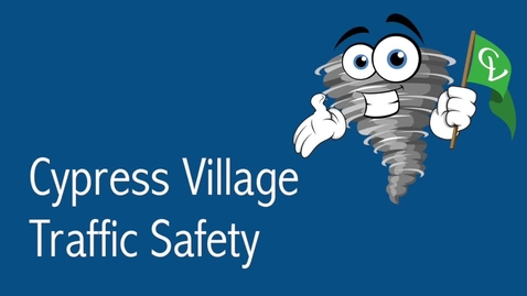 Thumbnail for entry Cypress Village Parking Lot Safety