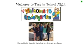 Thumbnail for entry Kindergarten BTSN Presentation  2017-18