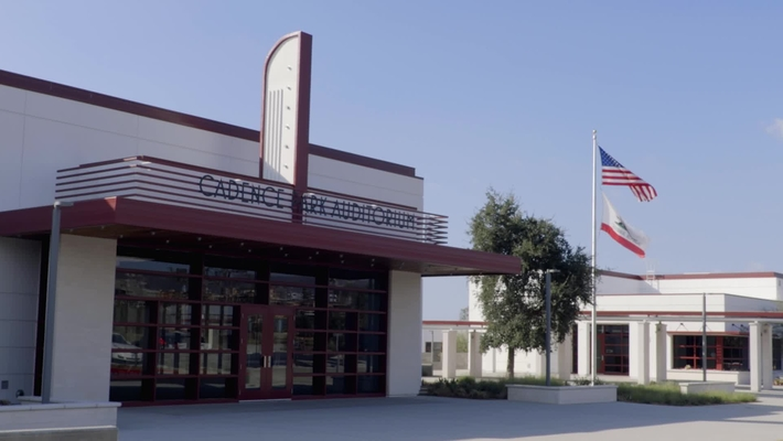 Cadence Park School Dedication