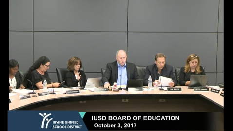 2017-10-03 Board Meeting
