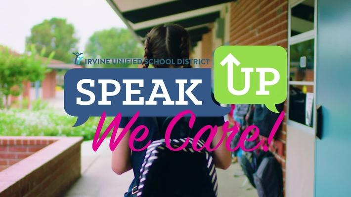 Speak Up, We Care!