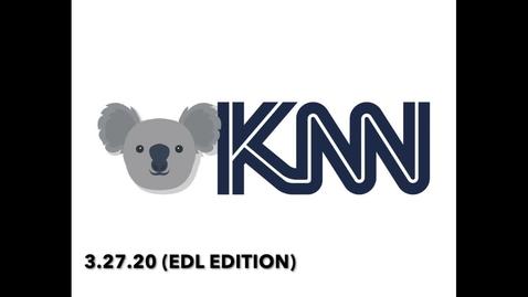 Thumbnail for entry KNN 3.27.20