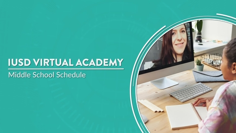 Thumbnail for entry IVA - Middle School Schedule