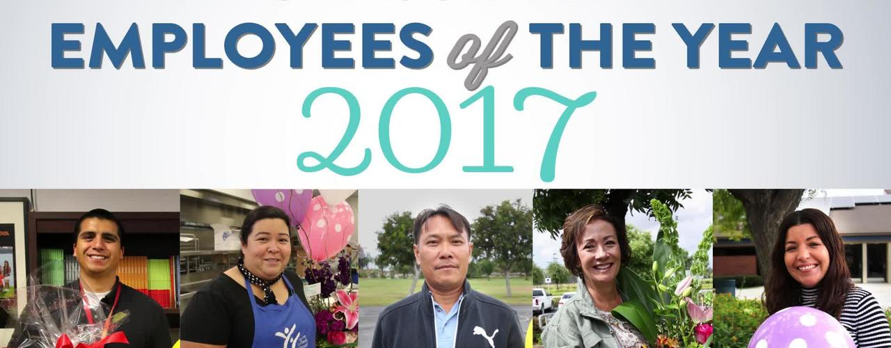 Classified Employees of the Year 2017
