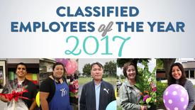 Thumbnail for entry Classified Employees of the Year 2017