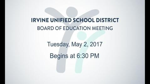 2017-05-02 Board Meeting