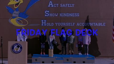 Thumbnail for entry Friday Flag Deck - April 10