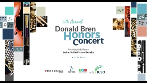 37th Annual Donald Bren Honors Concert 2019