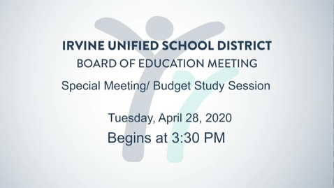 Thumbnail for entry 2020-04-28 Board Meeting Study Session