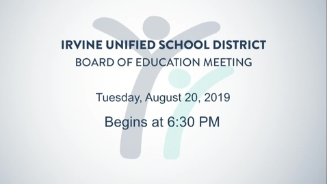 Thumbnail for entry 2019-08-19 Board Meeting