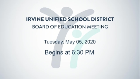 Thumbnail for entry 2020-05-05 Board Meeting