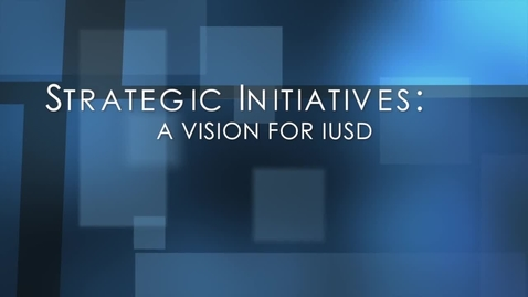 Thumbnail for entry Strategic Initiatives 2012-2017