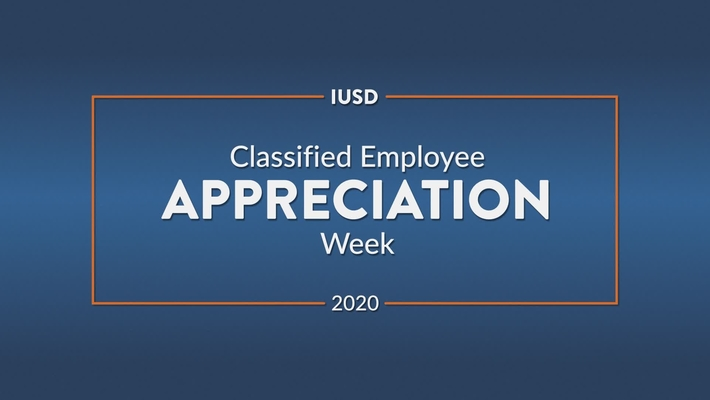 Classified Employee Appreciation Week 2020