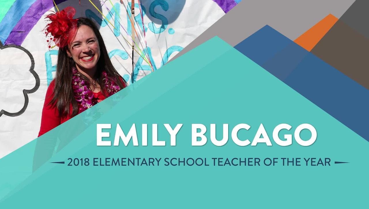 Emily Bucago - 2018 Elementary School Teacher of the Year