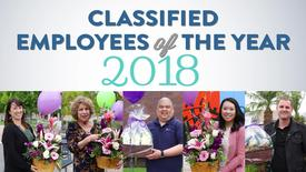 Thumbnail for entry 2018 Classified Employees of the Year