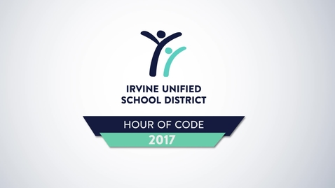 Thumbnail for entry Hour of Code 2017