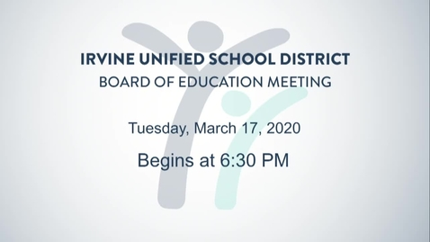 Thumbnail for entry 2020-03-17 Board Meeting