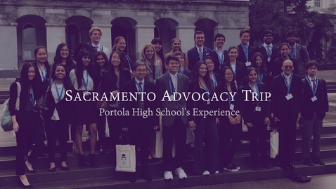 Thumbnail for entry Sacramento Advocacy Trip 2019