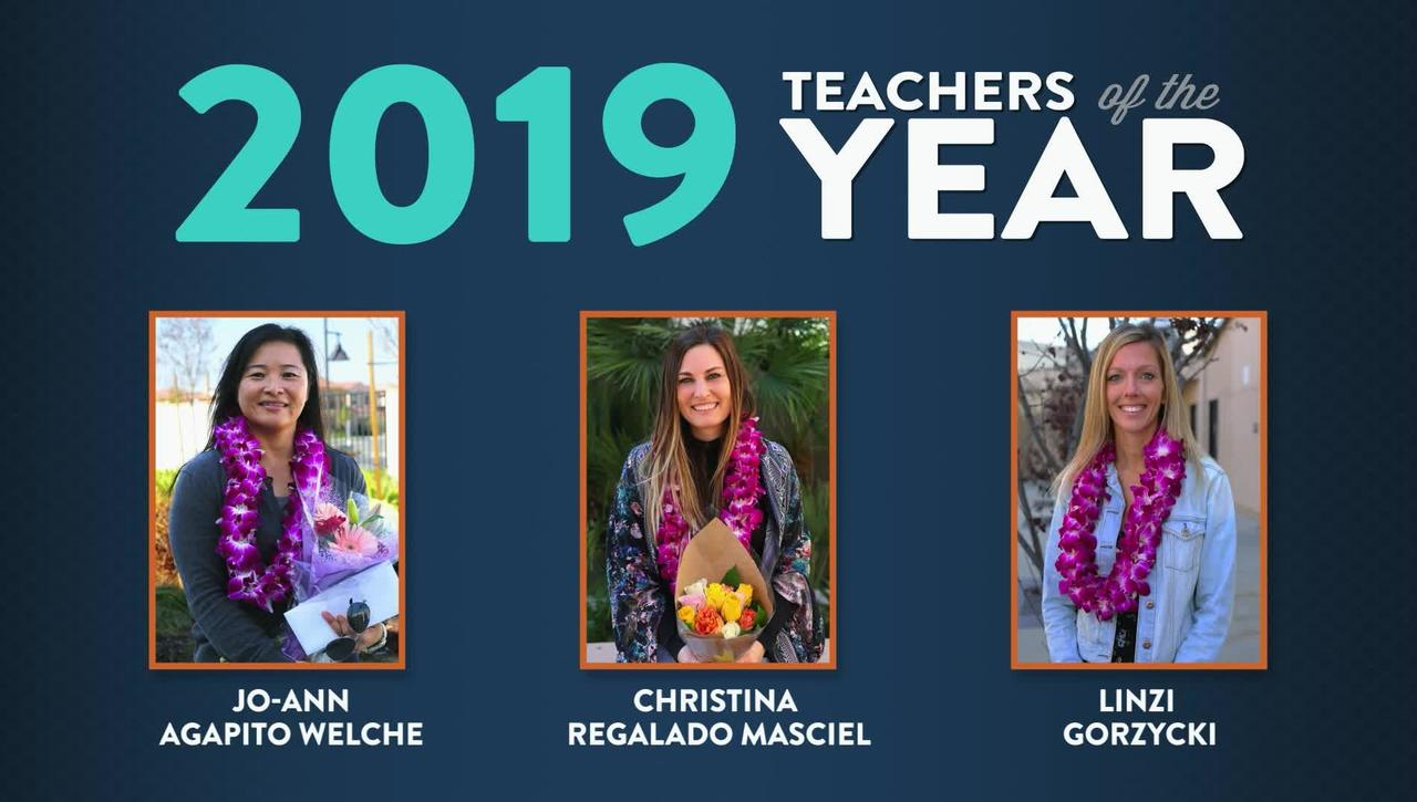 Teacher of the Year 2019