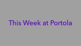 Thumbnail for entry Portola High School: What's happening this week