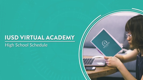 Thumbnail for entry IVA - High School Schedule