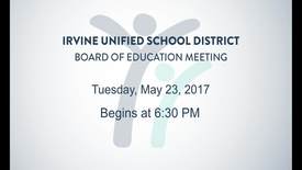 Thumbnail for entry 2017-05-23 Board Meeting