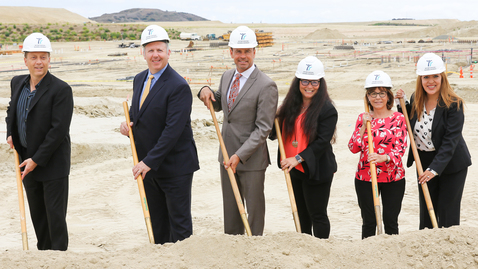 Thumbnail for entry Loma Ridge Elementary School Groundbreaking