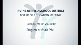 Thumbnail for entry 2019-03-26 Board Meeting