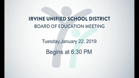 Thumbnail for entry 2019-01-22 Board Meeting