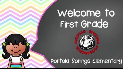 Thumbnail for entry 1st Grade BTSN 2021-2022