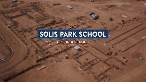 Thumbnail for entry Solis Park Groundbreaking 2021