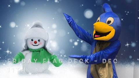 Thumbnail for entry Friday Flag Deck Dec 11th