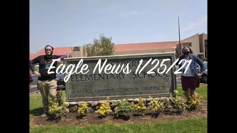 Thumbnail for entry Eagle News - 1/25