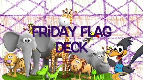 Thumbnail for entry Friday Flag Deck April 15th