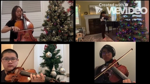 Thumbnail for entry IVA String Quartet - December 2020