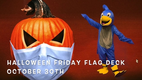 Thumbnail for entry Friday Flag Deck October 30
