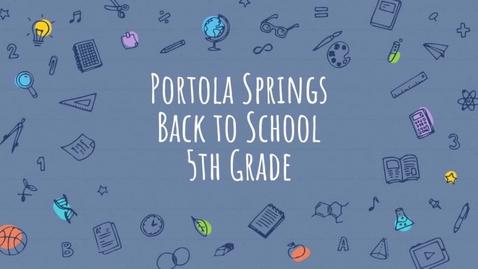 Thumbnail for entry 5th Grade BTSN 2021-2022