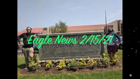 Thumbnail for entry Eagle News - 2/16