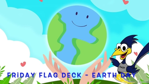 Thumbnail for entry Friday Flag Deck - April 23, 2021