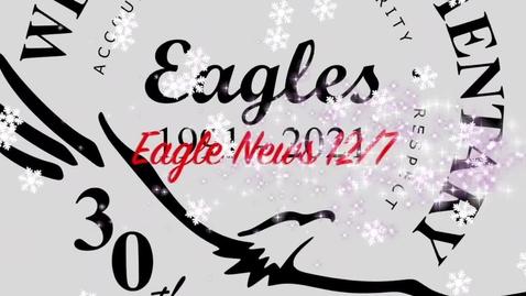 Thumbnail for entry Eagle News - 12/7/20