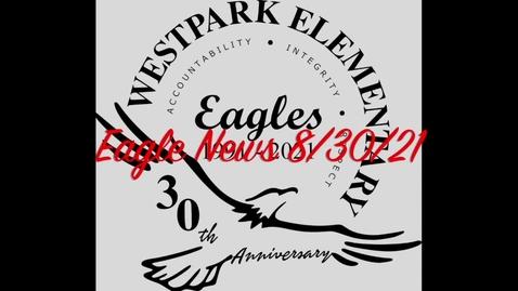 Thumbnail for entry Eagle News - 8/30