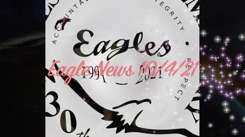Thumbnail for entry Eagle News - 10/4