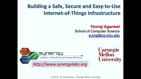 Thumbnail for entry Cylab Presentation - Agarwal.mp4