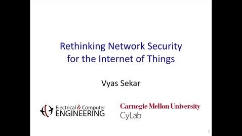 Thumbnail for entry Cylab Presentation - Sekar
