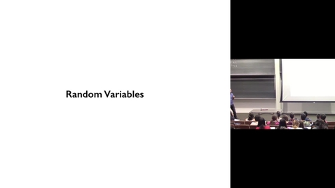 Thumbnail for entry Probability 4 - Basics of Random Variables