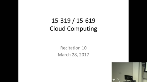 Thumbnail for entry Cloud Computing - 3/28/2017
