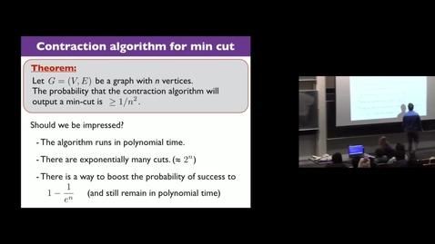 Thumbnail for entry Randomized Algorithms Lec 2 Part 4