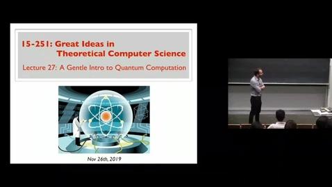 Thumbnail for entry Quantum Part 1